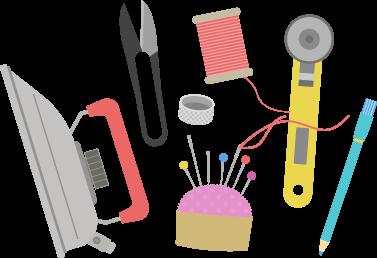 裁縫道具イラスト
