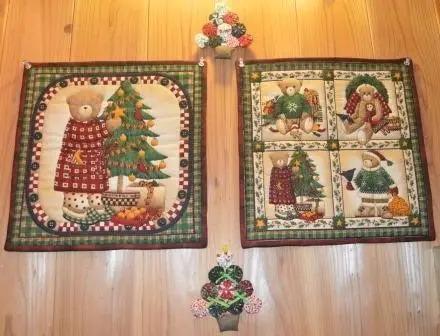 クリスマスキルト展作品画像